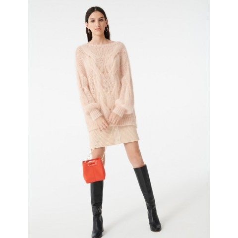 last chance cable knit sweater - beige limited sale best price