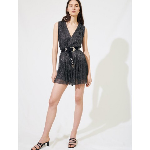 best price sparkly playsuit - silver limited sale last chance