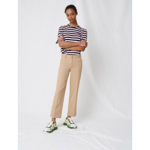 best price beige tailored trousers - last chance limited sale