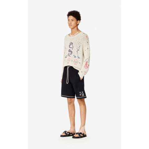 best price 'compass' shorts - black last chance limited sale