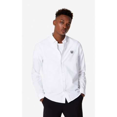 limited sale casual tiger shirt - white best price last chance