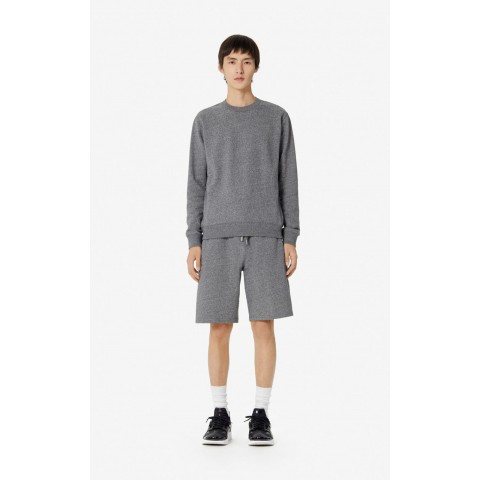 last chance kenzo logo shorts - anthracite best price limited sale