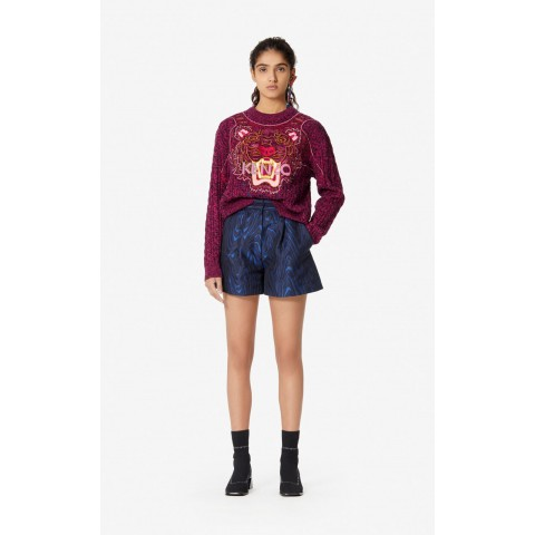 last chance 'claw tiger' jumper - begonia limited sale best price