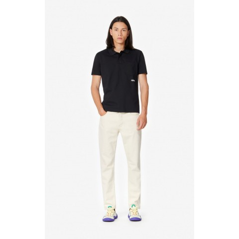 best price fitted polo shirt - black last chance limited sale