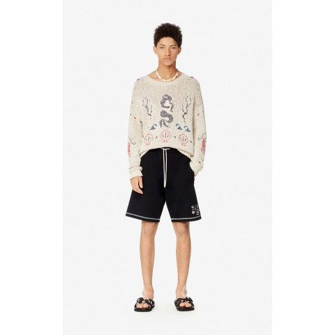 last chance 'fisherman' jumper - off white best price limited sale
