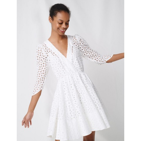 limited sale white lace dress - last chance best price