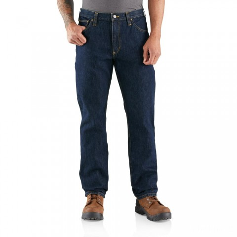 last chance carhartt 103889 - rugged flex relaxed fit utility five pocket jean frontier limited sale best price