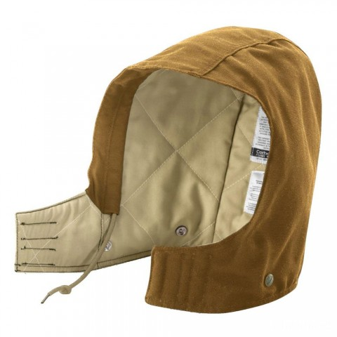 limited sale carhartt fra002 - flame-resistant midweight canvas hood brown last chance best price