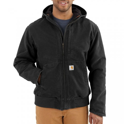 limited sale carhartt 102360 - full swing® armstrong active jacket sherpa lined black last chance best price