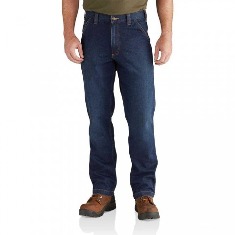 best price carhartt 102808 - rugged flex® relaxed dungaree jean superior last chance limited sale