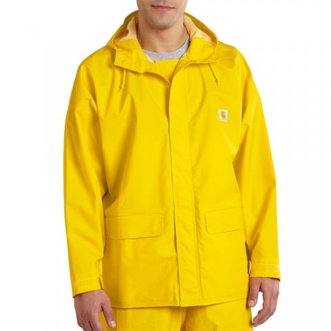 last chance carhartt 101076 - mayne coat yellow limited sale best price