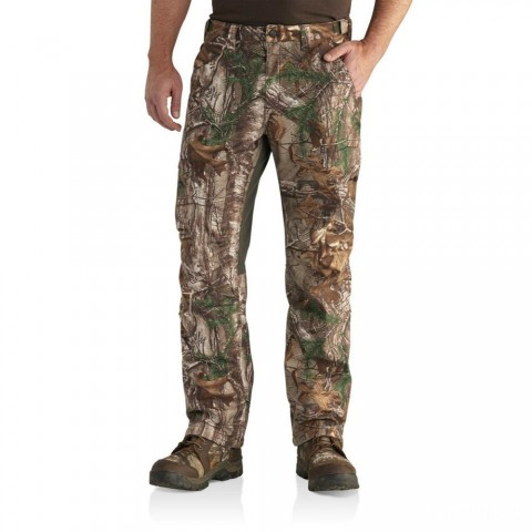 best price carhartt 102308 - buckfield pant realtree xtra limited sale last chance