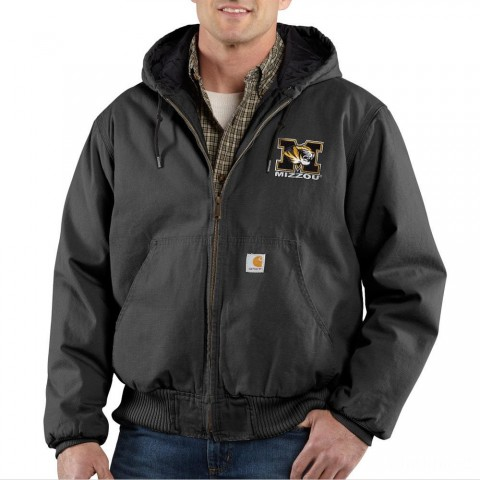 limited sale carhartt 100840 - missouri ripstop active jacket quilt lined black last chance best price