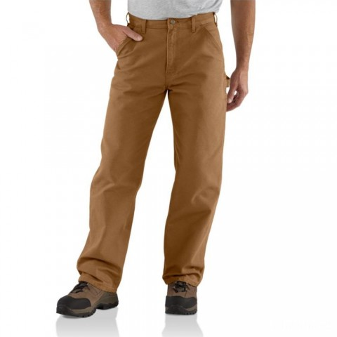 last chance carhartt b11 - washed duck work loose fit pant brown best price limited sale