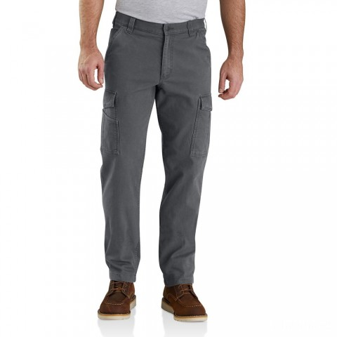 last chance carhartt 103574 - rugged flex® rigby cargo pant shadow limited sale best price