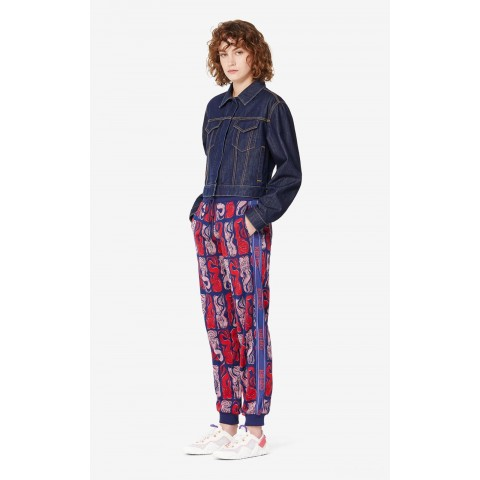 limited sale 'mermaids' jogging trousers - midnight blue best price last chance