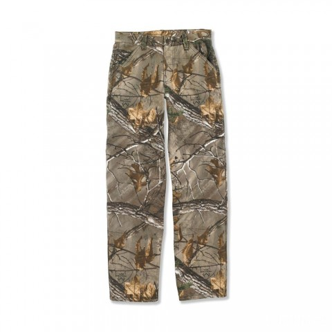 best price carhartt ck8347 - work camo duck dungaree boys realtree xtra limited sale last chance