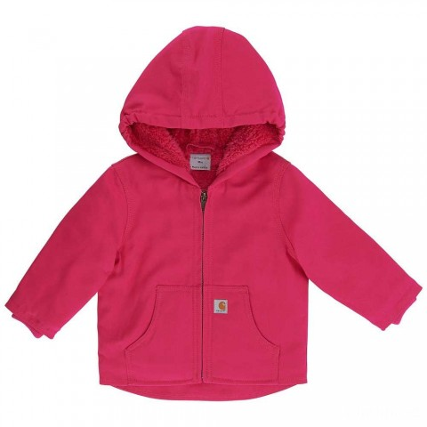 last chance carhartt cp9534 - redwood jacket sherpa lined girls pink peacock best price limited sale