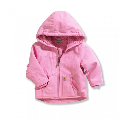 last chance carhartt cp9460 - redwood jacket sherpa lined girls pink limited sale best price