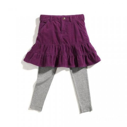 limited sale carhartt cg9513 - washed pony skirt and tights set girls dark purple last chance best price