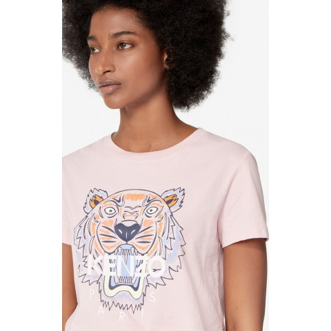 best price tiger t-shirt - faded pink limited sale last chance