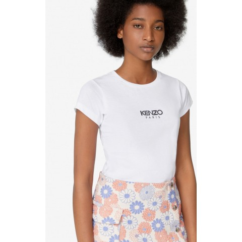 best price kenzo logo t-shirt - white last chance limited sale