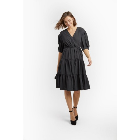 limited sale mary dress - black best price last chance