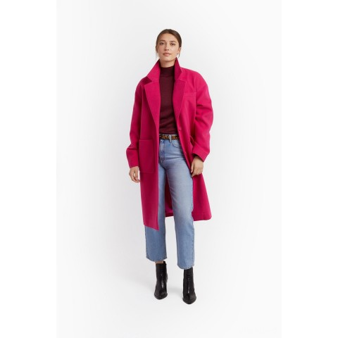 limited sale lucia coat - hot pink last chance best price