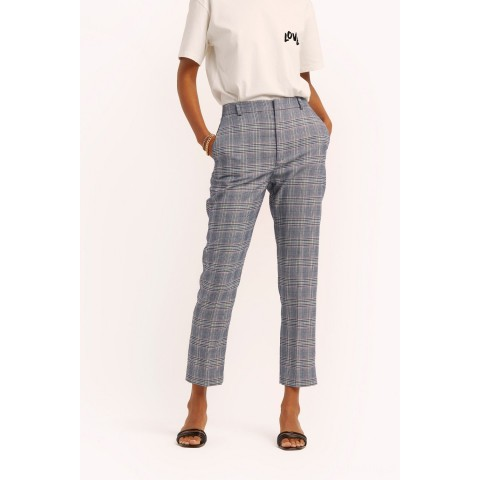 limited sale louisa pant - navy multi last chance best price