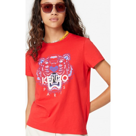 last chance tiger t-shirt - medium red best price limited sale