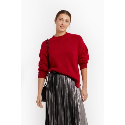 limited sale rae sweater - red best price last chance