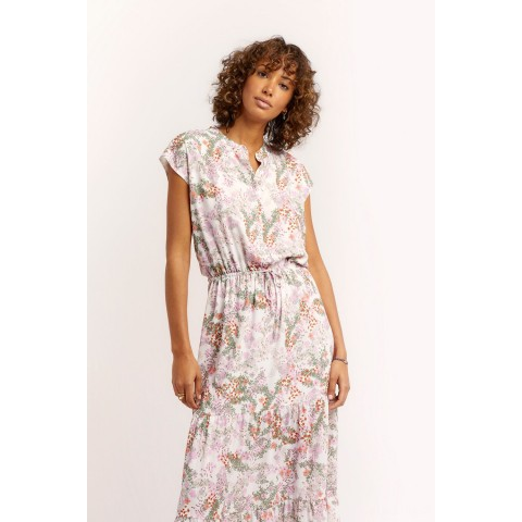 best price giselle dress - white multi limited sale last chance