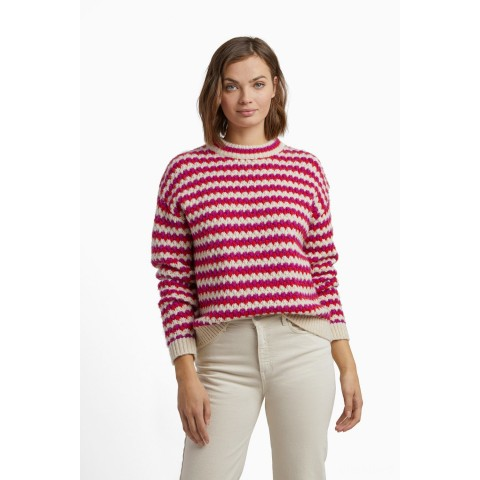 best price katherine sweater - red multi last chance limited sale