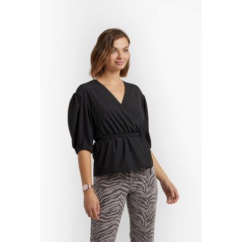 last chance mary top - black limited sale best price