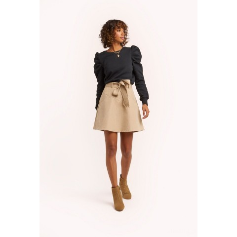 limited sale stacy skirt - sand best price last chance