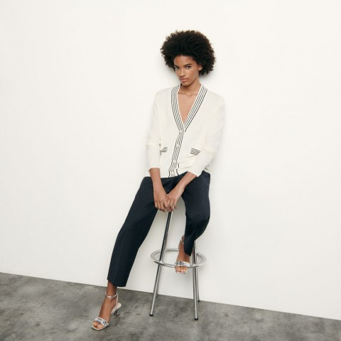 best price wool and cashmere cardigan - ecru last chance limited sale