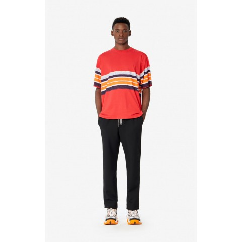 last chance striped t-shirt - medium red best price limited sale