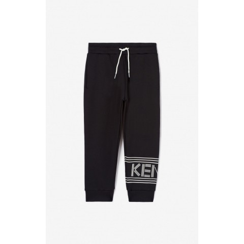 best price kenzo logo jogging trousers - black last chance limited sale
