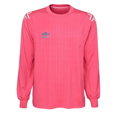 best price l/s soccer jersey - hot pink/bay blue last chance limited sale