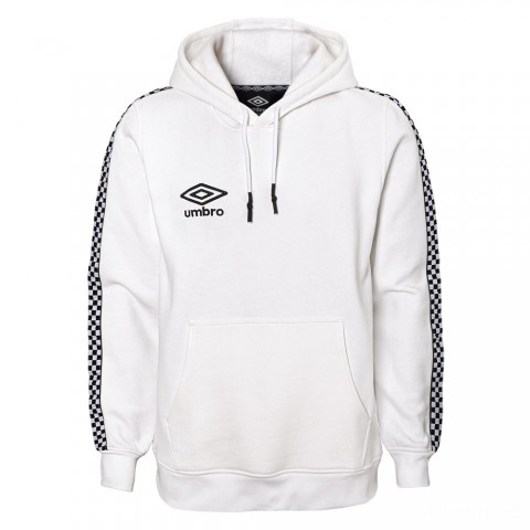 last chance check tape pullover - white/black beauty best price limited sale