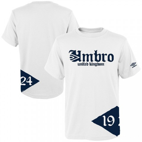 last chance heritage uk ss graphic tee - white/navy best price limited sale