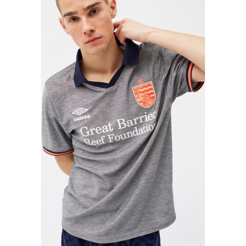 limited sale coral studios x umbro away jersey - black beauty best price last chance