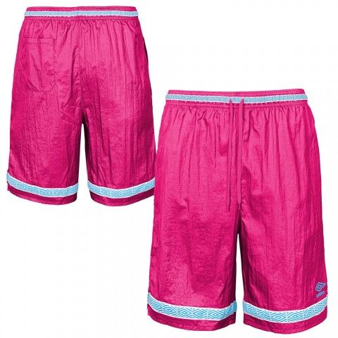 last chance throwback short - hot pink/bay blue limited sale best price