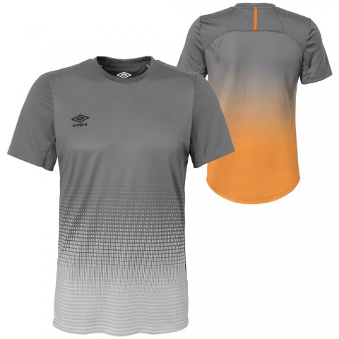 best price elite silo training jersey - gray flannel/turmeric last chance limited sale