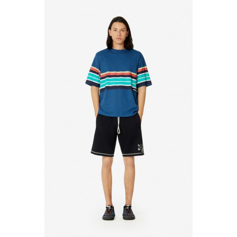 limited sale striped t-shirt - duck blue last chance best price