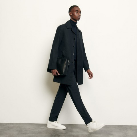 best price town coat - navy blue last chance limited sale