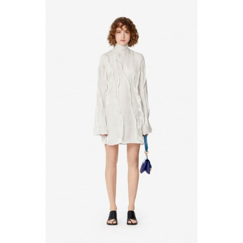 best price 'wave' flowing dress - off white last chance limited sale