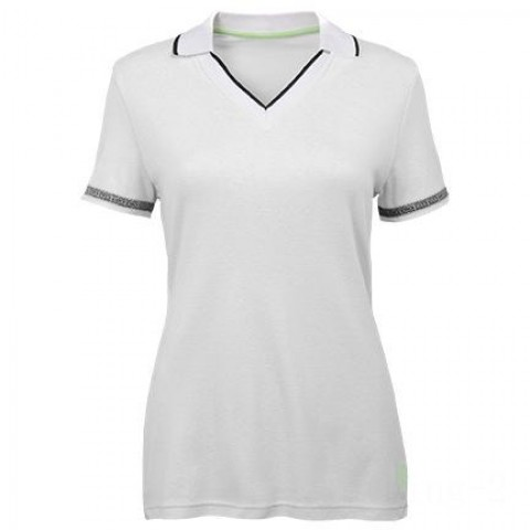 last chance womens deep v jersey - wht/blk best price limited sale