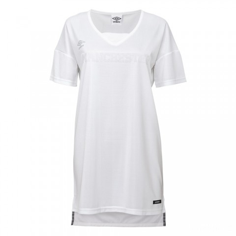 limited sale jersey dress - white best price last chance