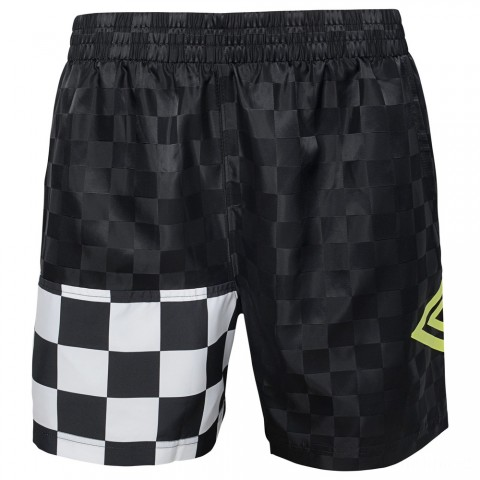 limited sale mix checkerboard short - black beauty/ white last chance best price